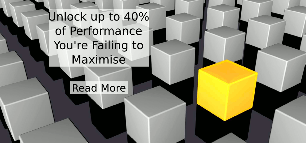 Unlock up to 40% of Performance