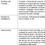 Training and Development Syllabus - Small Diagram 7